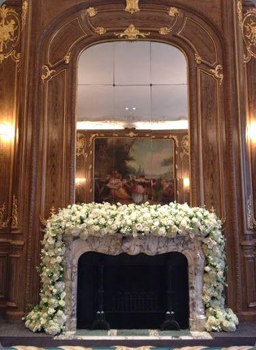 22 best fireplace/altar/mantel floral designs images on Pinterest ...