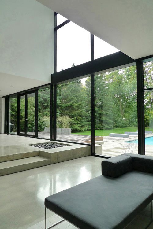 Dream house. Modern Black and White Family Home in Canada by Guido Costantino