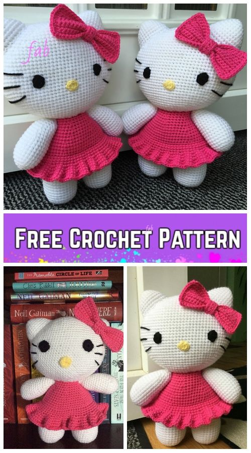 AMIGURUMIS: MINI HELLO KITTY paso a paso | Variasmanualidades's Blog | 900x500