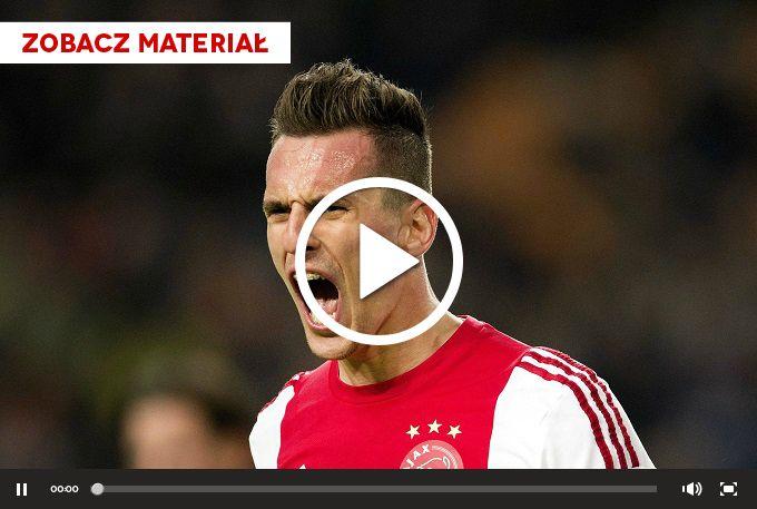 Eredivisie: Piękny gol Arkadiusza Milika WIDEO - Ligi zagraniczne