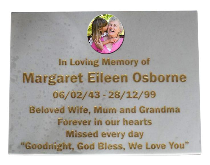 Child Traditional Engraved Plaque Gold designed by Forever Shining Australia. Design yours now on our website. Order Online - Ship World Wide