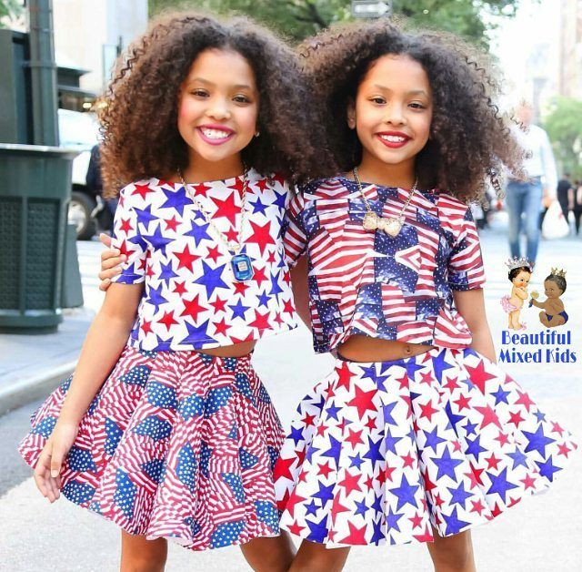 """18.2k Likes, 140 Comments - Beautiful Mixed Kids (@beautifulmixedkids) on Instagram: """"Anais & Mirabelle Lee - 9 Years • African American & English ❤❤ FOLLOW @BEAUTIFULMIXEDKIDS…"""""""