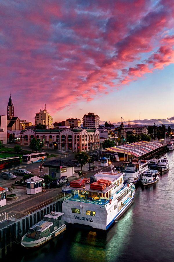 Rio Valdivia Chile