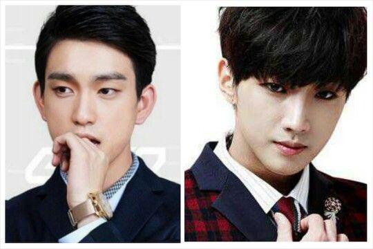 Double action..double jinyoung double smartuniform double gantenh double sweet voice..double bkn sawan
