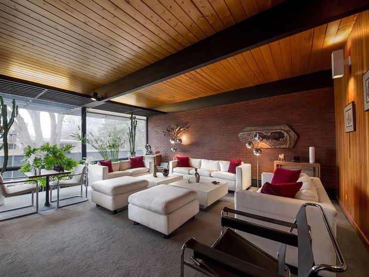 148 best images about mid century modern house on for Mid century modern homes denver
