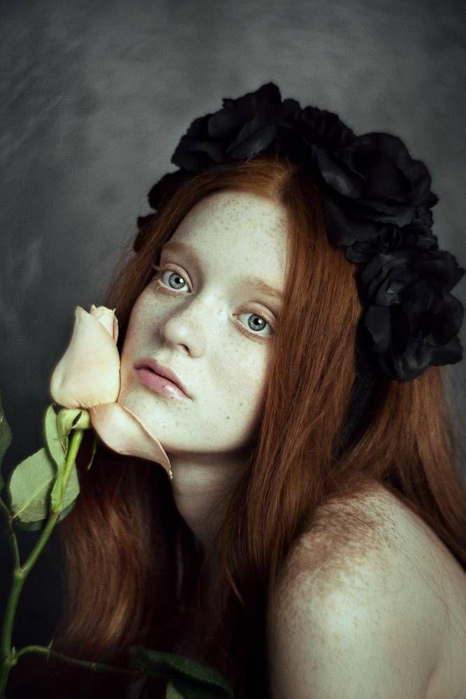 Haare rot farben photoshop