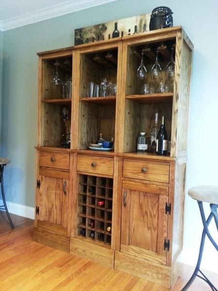 Diy modular bar free project plans from ana for Do it yourself home projects