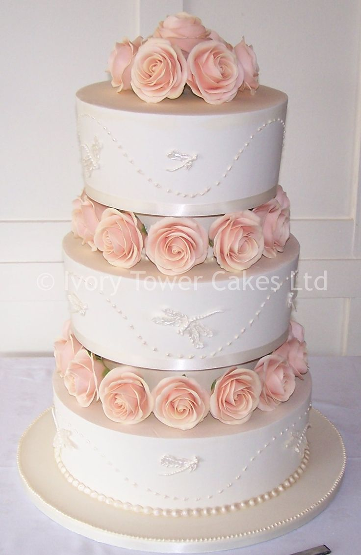 Royal Iced Wedding Cake Single Tier