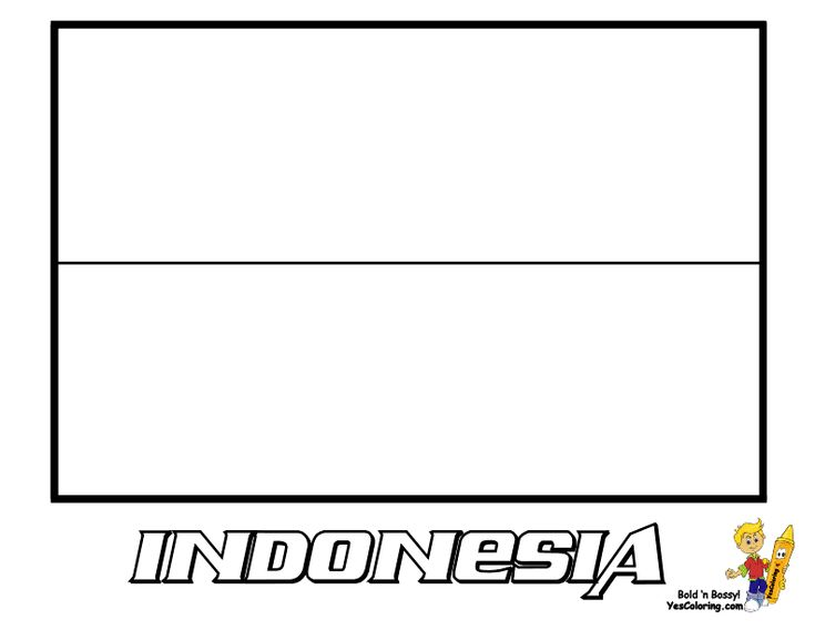 indonesian coloring pages - photo#11