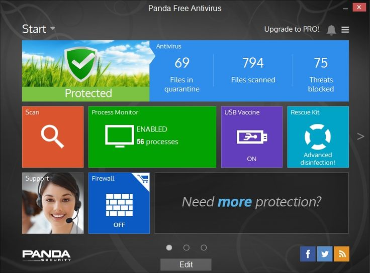 Panda Free Antivirus 2015 scores on par with the best commercial antivirus tools, both in our hands-on tests and independent labs tests. It's a new Editors' Choice for free antivirus.