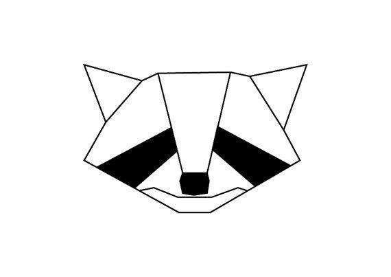 Hoi! Ik heb een geweldige listing op Etsy gevonden: https://www.etsy.com/nl/listing/491941670/geometric-raccoon-print-wall-art