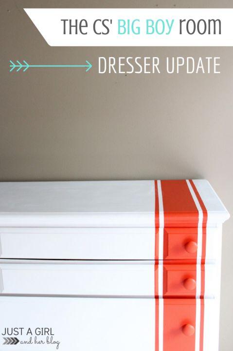 Racing Stripes Dresser Update