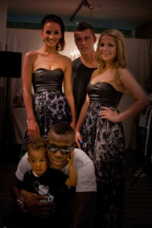 Swag fashion store opening met o.a. Royston Drenthe