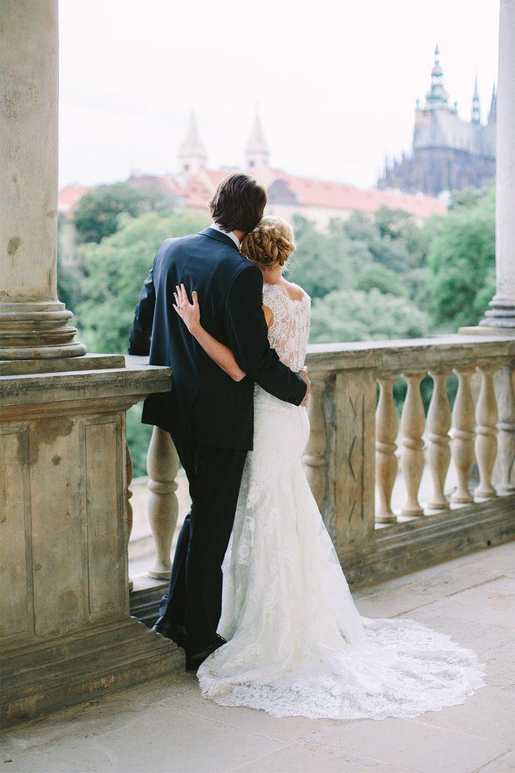 YOU&ME 01/2015 cover photo shoot at beautiful Belvedere, photo by Christin Lange // via Originální Svatba