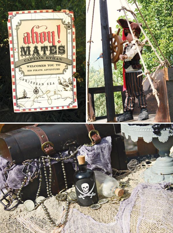 Pirates of the Caribbean Birthday Party // Hostess with the Mostess®
