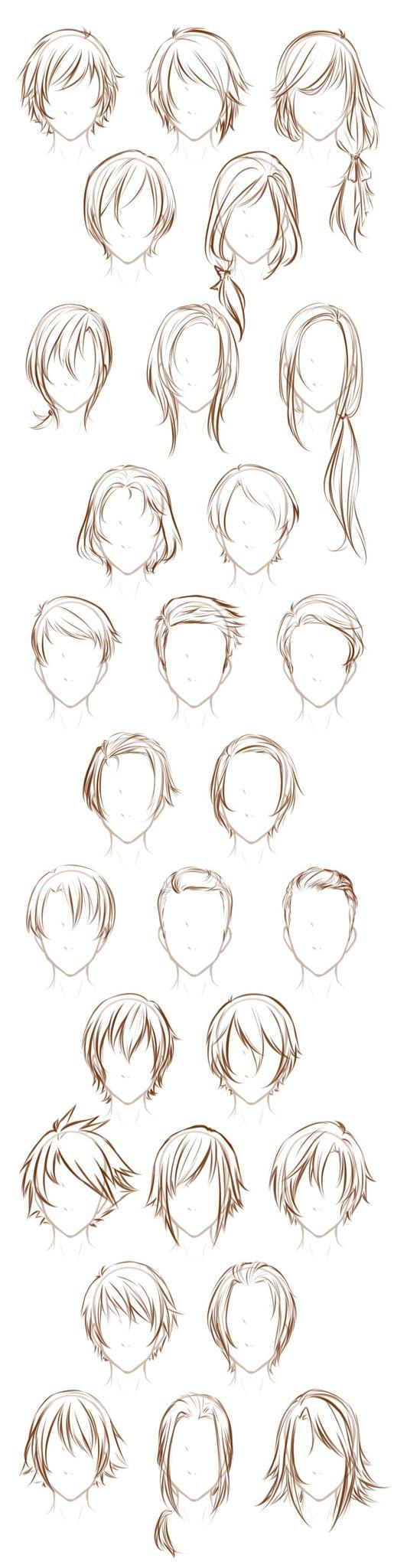 ~ COOL DRAWINGS ~ Hairstyles