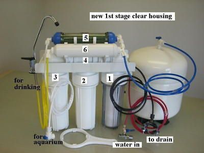 Cleaning and Maintenance 148983: Reef And Home Drinking Ro+Di Dual Output Reverse Osmosis Pure Water Filter System -> BUY IT NOW ONLY: $153 on eBay!