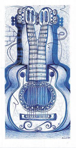 ramon-echavarria-arte-guitarras gemelas | by Ramon Echavarria