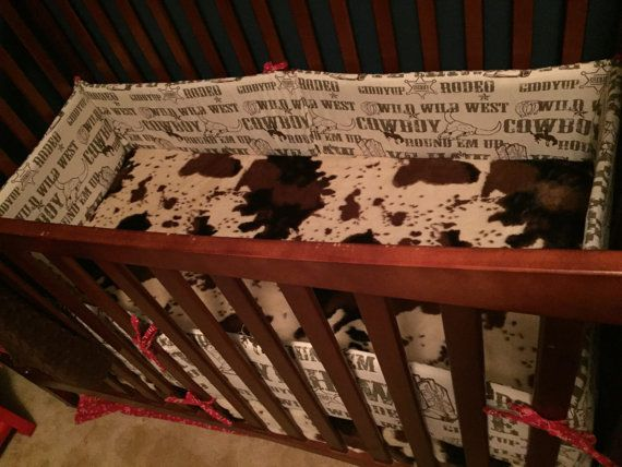 Cowboy/ western baby boy bedding set by CinnysLaceCreations