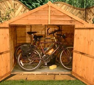 25 best ideas about bicycle storage shed on pinterest. Black Bedroom Furniture Sets. Home Design Ideas