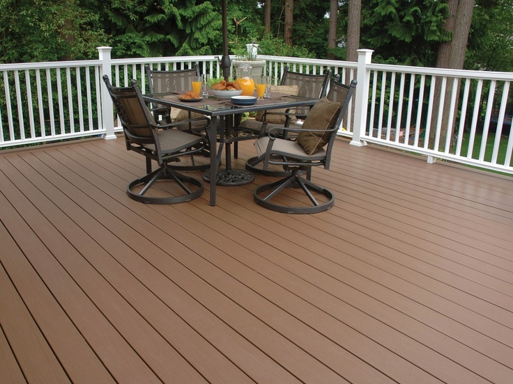 17 images about deck on pinterest vinyls white vinyl for White composite decking