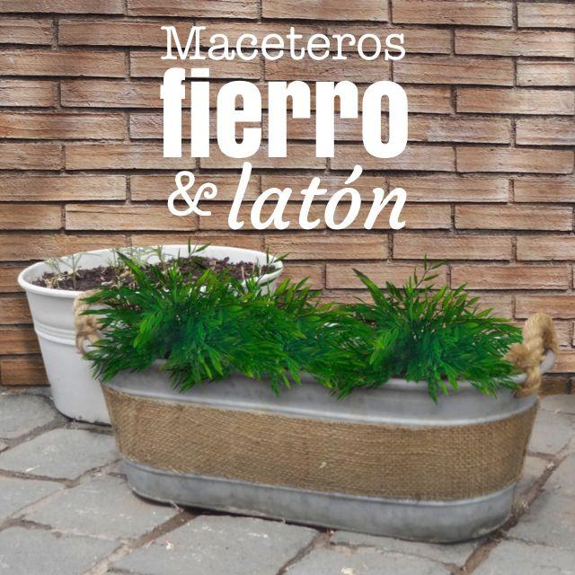 Jardín • Terraza • Balcón • Maceteros para elegir en Mic Deco.