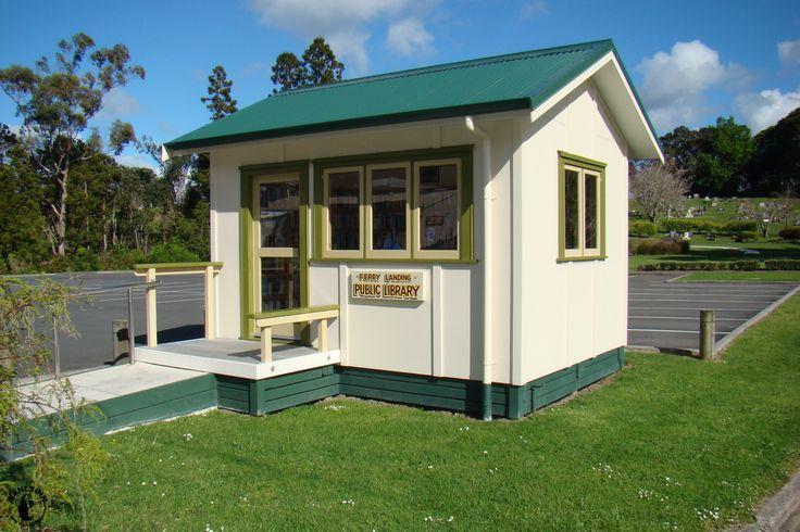 Neuseeland - Die wohl kleinste Bücherei