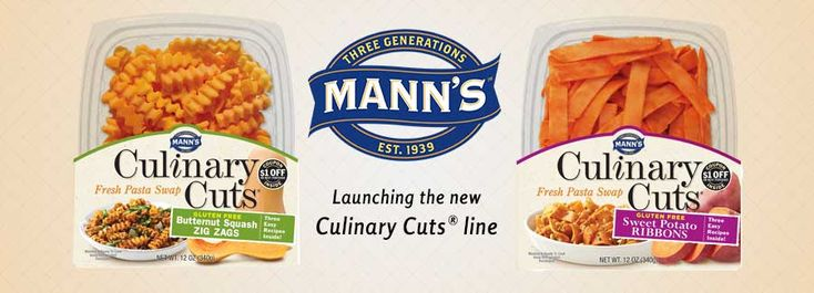 Mann Packing Launches Culinary Cuts® with Sweet Potato Ribbons and Butternut Squash Zigzags | ANUK Mobile