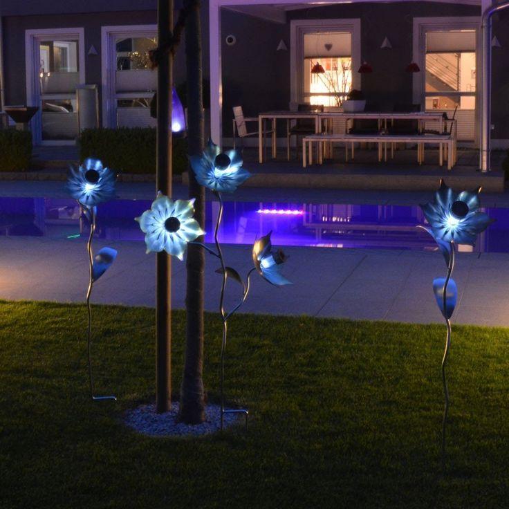 96 besten beleuchtung au enbereich bilder auf pinterest. Black Bedroom Furniture Sets. Home Design Ideas
