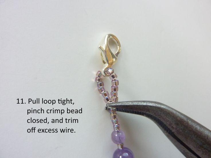 Wire Loop Cross: step 11