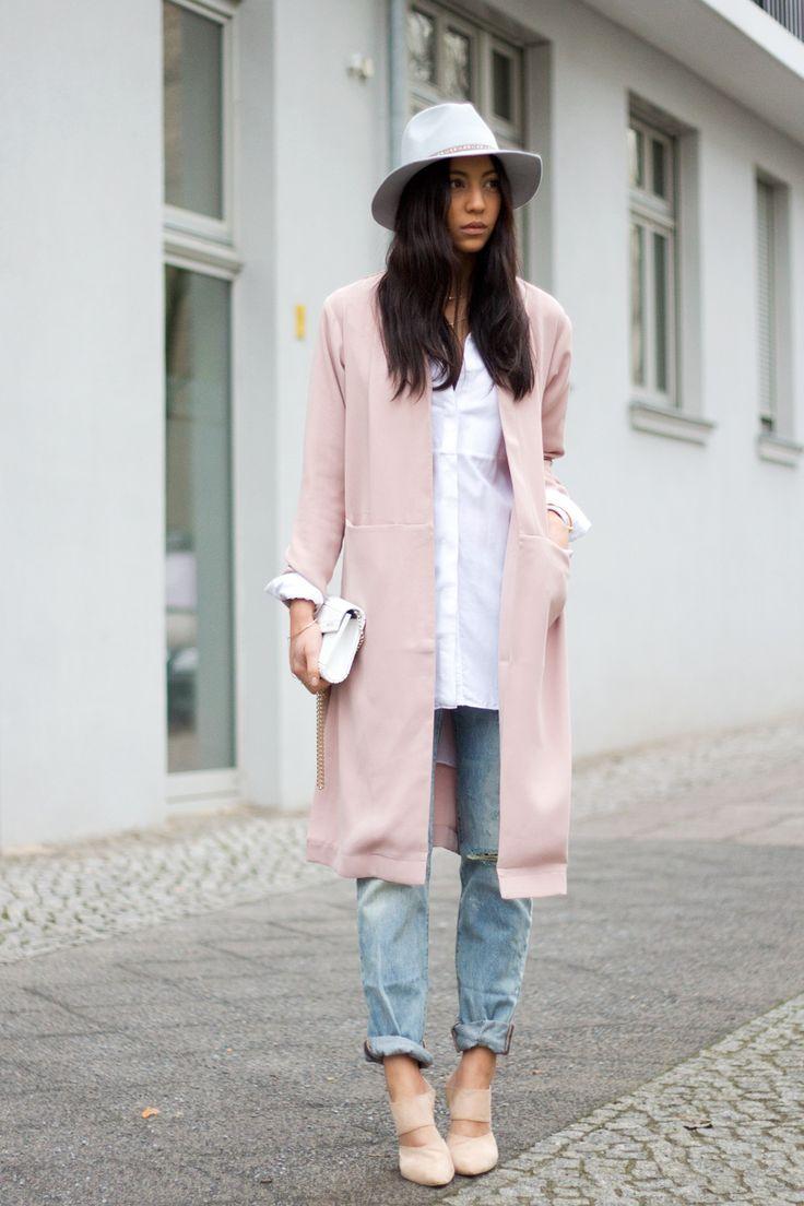 Inspira 231 227 O Street Style Para Usar Rose Quartz Com Jeans