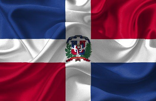 Dominikánská Republika, Vlajka