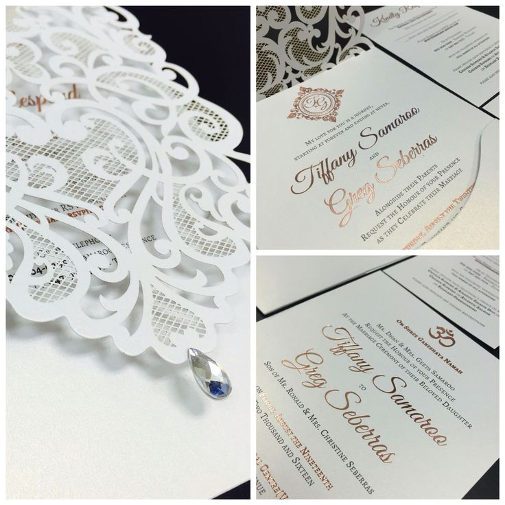 Fantastic Wedding Invitations Ontario Festooning - Invitation Card ...