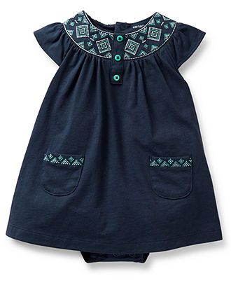 Carter's Baby Girls' 2-Piece Dress & Cardigan Set - Kids Newborn Shop - Macy's