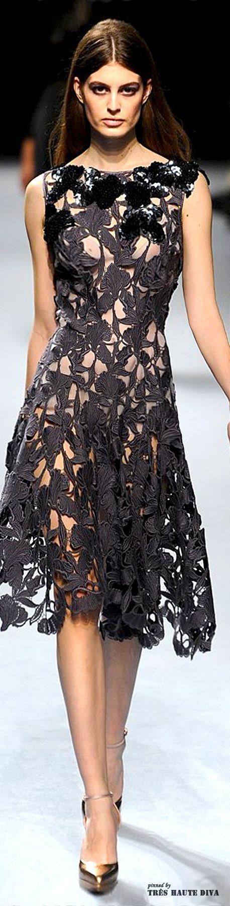 #Paris Fashion Week #Nina Ricci Fall 2014 RTW