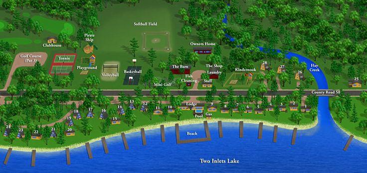 Brookside resort park rapids mnour summer home away