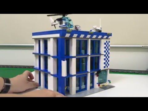 Lego Police Station Custom Moc - YouTube