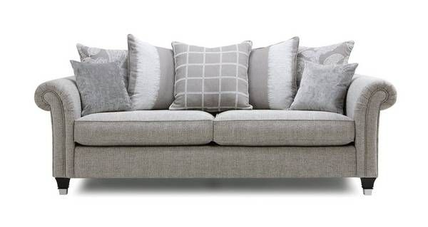 Bellagio 4 Seater Pillow Back Sofa Bellagio Combination Dfs Pillows Sofa Love Seat