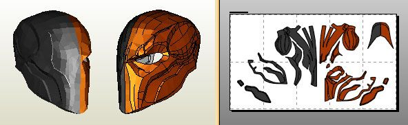Arkham deathstroke helmet by jfcustom on the rpf forum for Deathstroke armor template