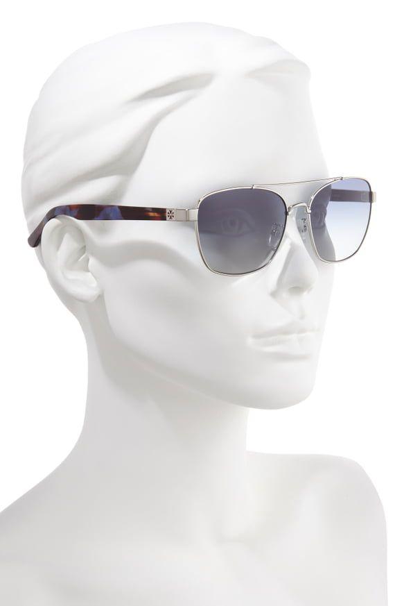 f6dfdb1780cc Tory Burch 57mm Gradient Navigator Sunglasses | Nordstrom | glasses ...