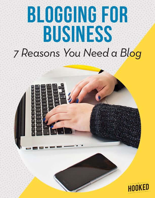 Blogging for business is just one form of content marketing, and one of the most cost effective marketing investments that businesses of any size can make. Think of your blog as a long term asset that will increase your brand's reach, promote your expertise in your field and drive sales, traffic to your website and email subscriptions. Click to read the full post on Hooked Marketing & Creative.