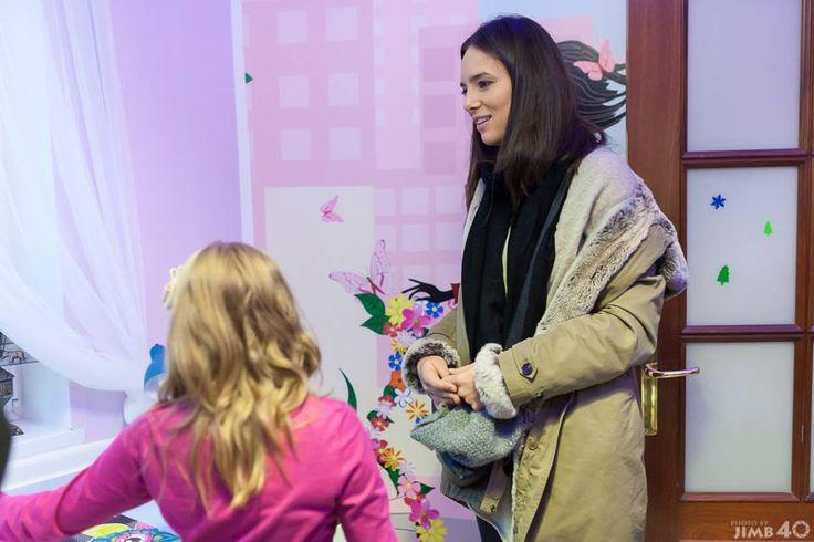 Anna Czartoryska-Niemczycka zaprzyjaźniona z nami od początku z ogromną radością odwiedziła dzieci :)