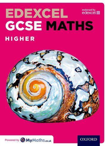 Edexcel GCSE Maths Higher Student Book - Oxford University Press. Shortlisted 2015.