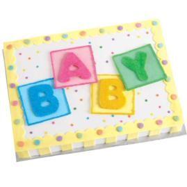 Wilton baby cake idea