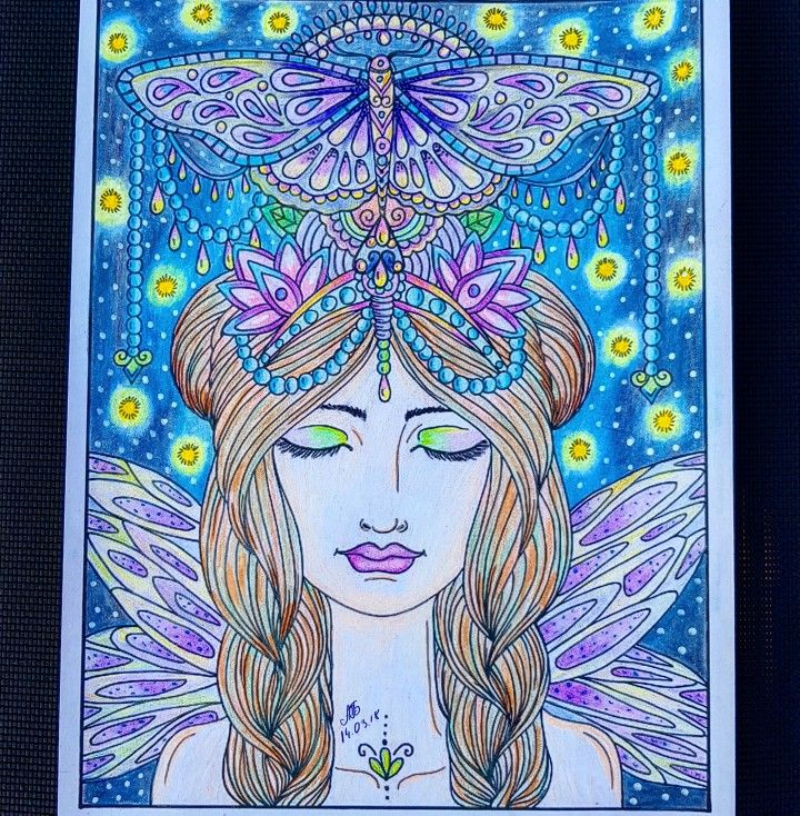 Coloring page from Pinterest