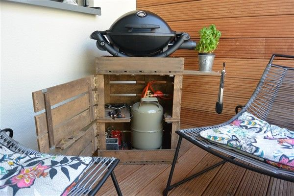 bbq grill ideas for apartment balcony