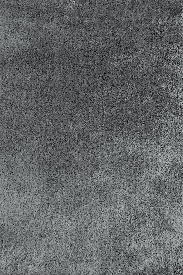 Lalee 347152360 Designer Hochflor Shaggy Teppich / Handarbeit / Uni /  Weicher Langflor / Edel /