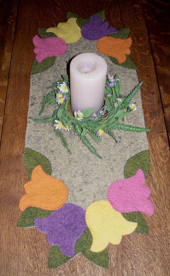 Una explosión de primavera Penny alfombra por JustJills en Etsy