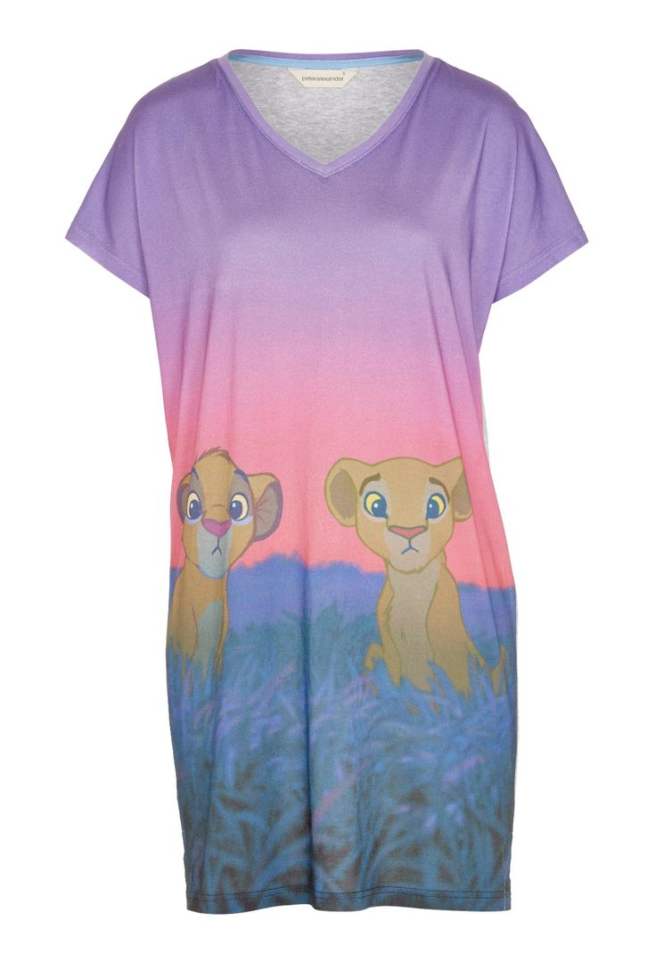 Lion King Simba And Nala Sleep Tee | Peter Alexander