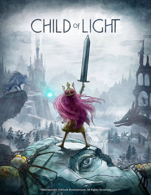 Child of Light by Eve Berthelette